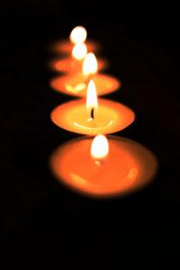 La elección de velas mágicas